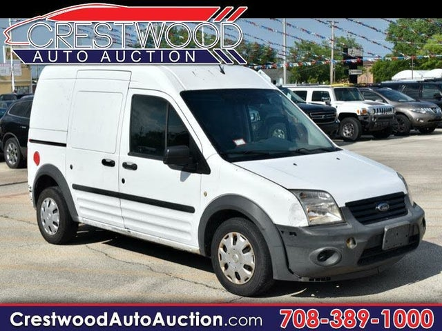 2010 Ford Transit Connect Cargo XL FWD with Side and Rear Glass