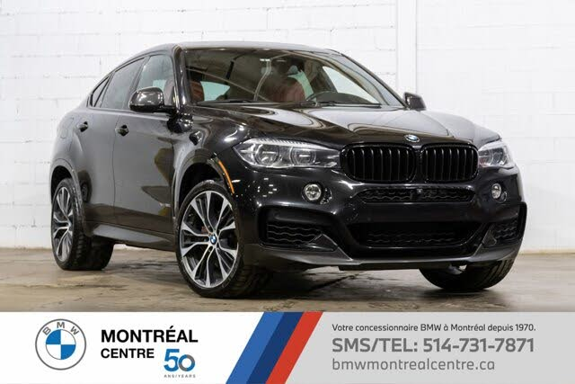 2017 BMW X6 xDrive50i AWD