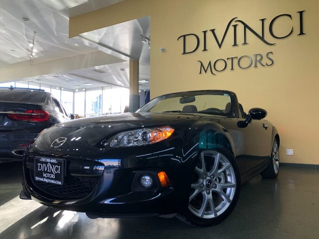 2015 Mazda MX-5 Miata Grand Touring Convertible with Retractable Hardtop