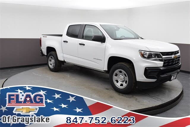 2021 Chevrolet Colorado Work Truck Crew Cab 4WD