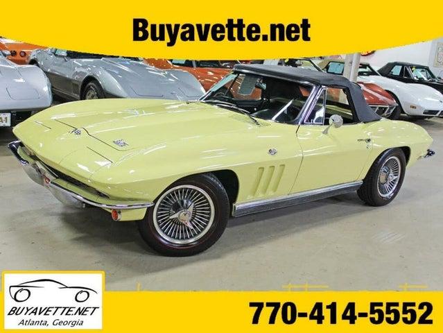 1966 Chevrolet Corvette Sting Ray Convertible RWD