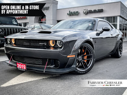 2019 Dodge Challenger SRT Hellcat Redeye Widebody RWD