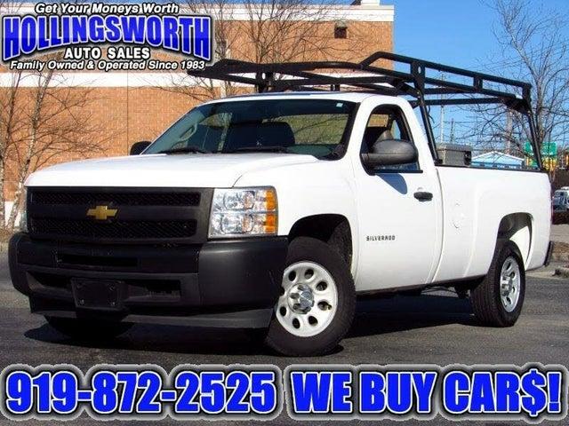 2012 Chevrolet Silverado 1500 Work Truck RWD