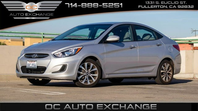 2017 Hyundai Accent Value Edition Sedan FWD