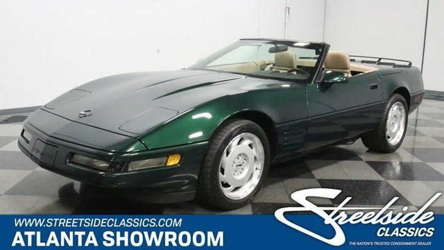 1992 Chevrolet Corvette Convertible RWD