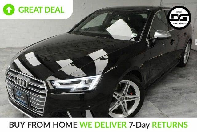 2019 Audi S4 3.0T quattro Premium Sedan AWD
