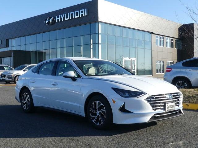 2021 Hyundai Sonata Hybrid Blue FWD