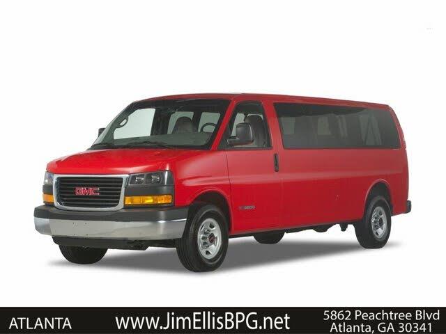 2021 GMC Savana LT 3500 Extended RWD