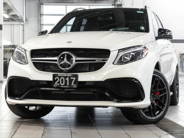 2017 Mercedes-Benz GLE-Class GLE AMG 63 4MATIC S-Model