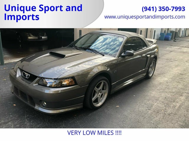 2002 Ford Mustang GT Deluxe Convertible