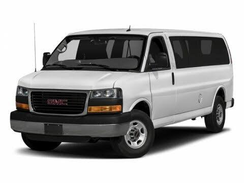 2018 GMC Savana LT 3500 Ext