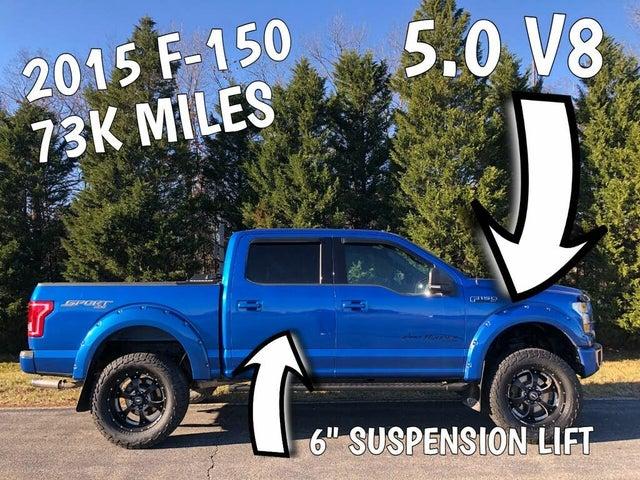 2015 Ford F-150 Lariat SuperCrew 4WD