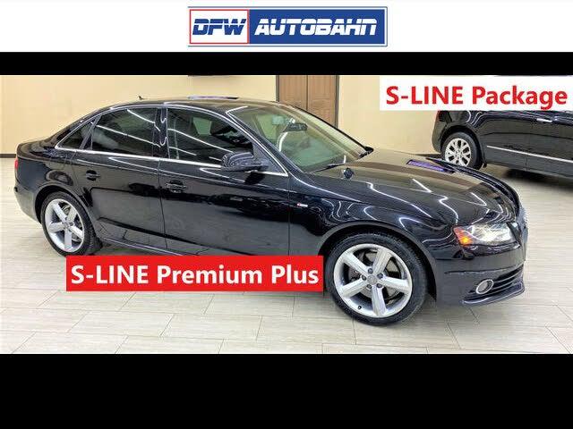 2012 Audi A4 2.0T Premium Plus Sedan FWD