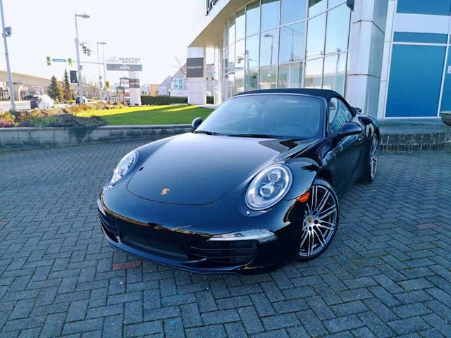 2016 Porsche 911 Carrera Black Edition Convertible RWD