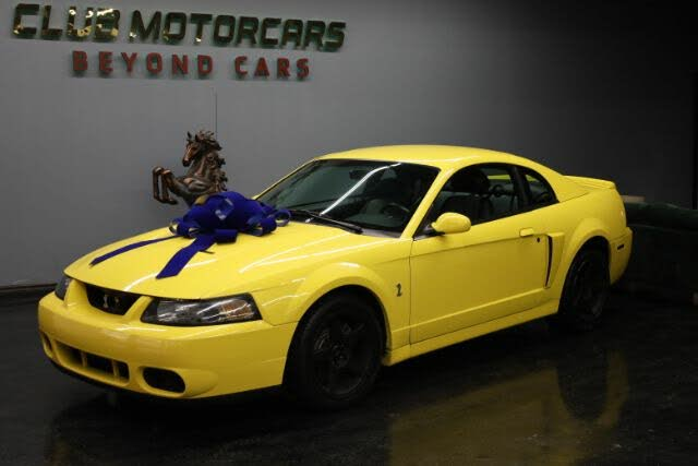 2003 Ford Mustang SVT Cobra Supercharged Coupe