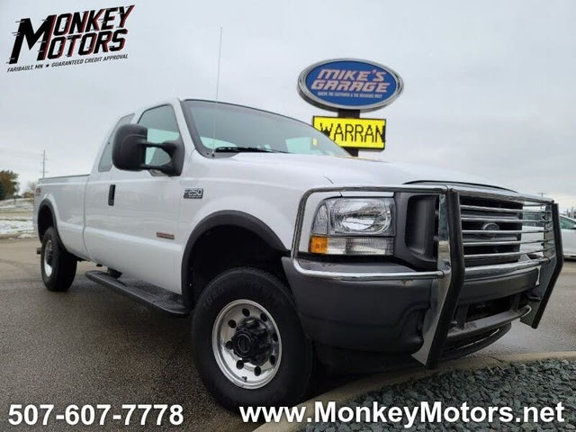 2004 Ford F-250 Super Duty XLT 4WD Extended Cab SB