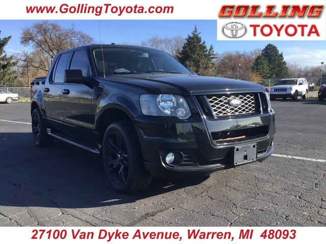 2010 Ford Explorer Sport Trac Limited AWD