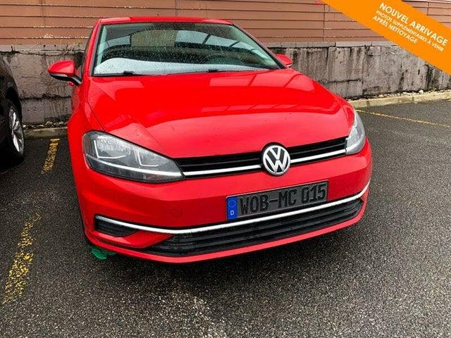 2018 Volkswagen Golf 1.8T Trendline 4-Door FWD
