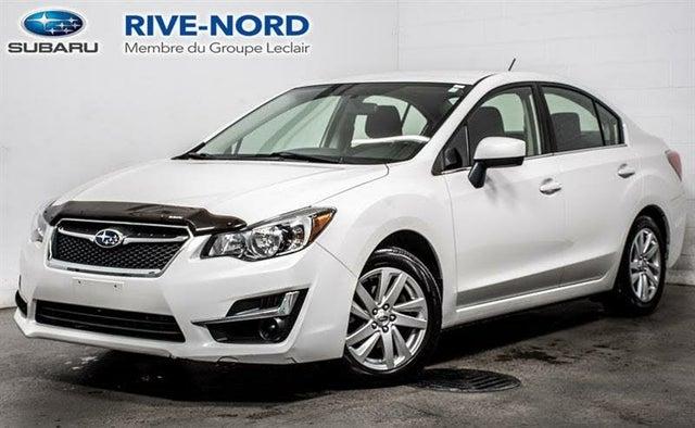 2016 Subaru Impreza 2.0i Premium Sedan AWD