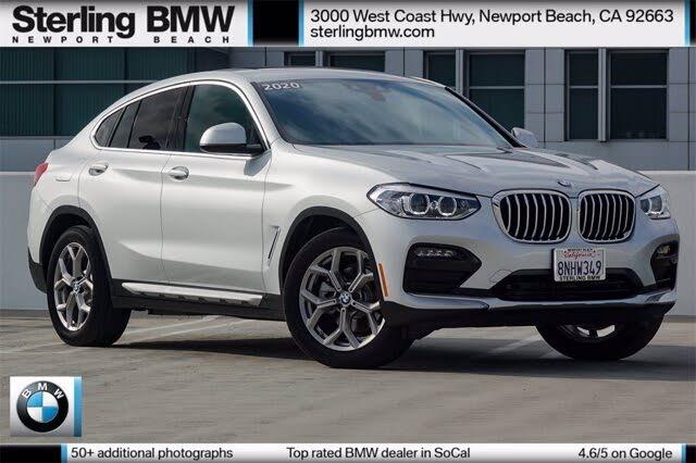2020 BMW X4 xDrive30i AWD