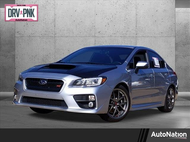 2016 Subaru WRX STI Limited with Low Profile Spoiler