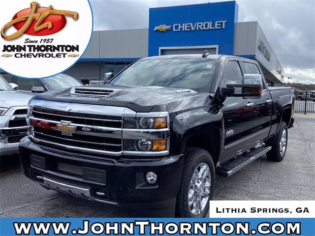 2019 Chevrolet Silverado 2500HD High Country Crew Cab 4WD