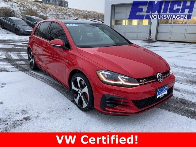 2018 Volkswagen GTI 2.0T SE 4-Door FWD