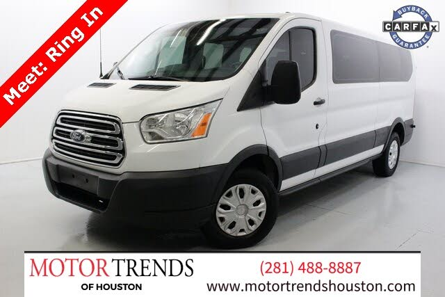 2016 Ford Transit Passenger 350 XLT Low Roof LWB RWD with 60/40 Passenger-Side Doors