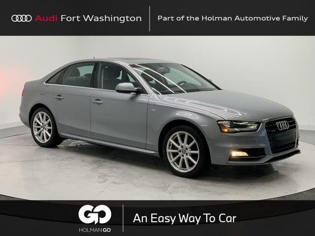 2015 Audi A4 2.0T quattro Premium Plus AWD