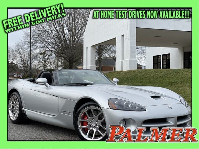 2004 Dodge Viper SRT10 Roadster RWD