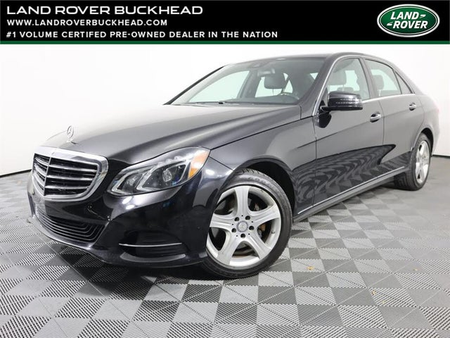2015 Mercedes-Benz E-Class E 350 4MATIC Sedan AWD