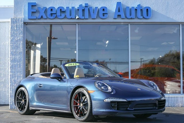 2016 Porsche 911 Carrera 4S Convertible AWD