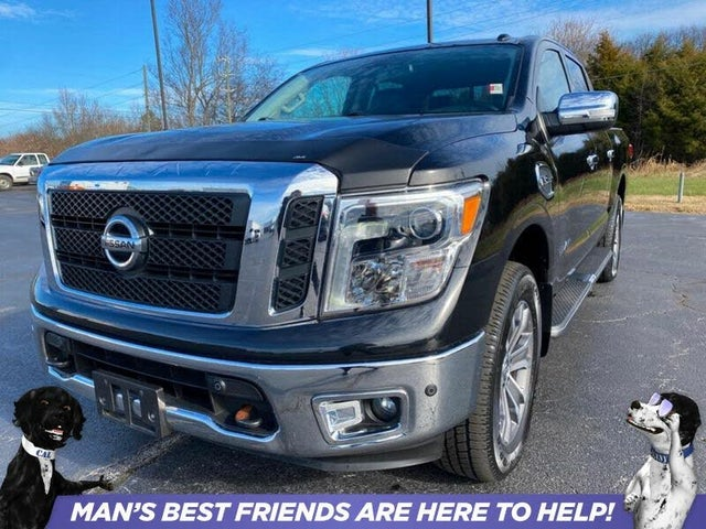 2017 Nissan Titan SL Crew Cab 4WD