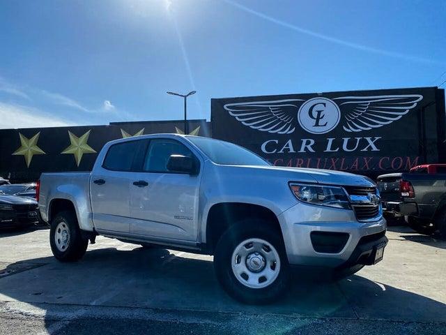 2018 Chevrolet Colorado Work Truck Crew Cab RWD
