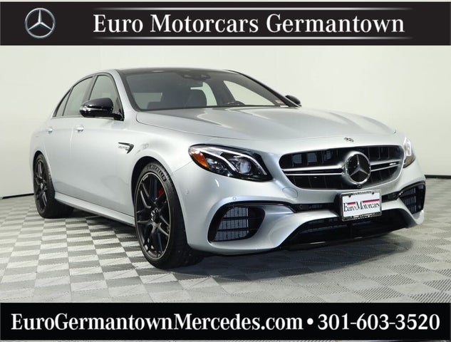 2020 Mercedes-Benz E-Class E AMG 63 S 4MATIC Sedan AWD
