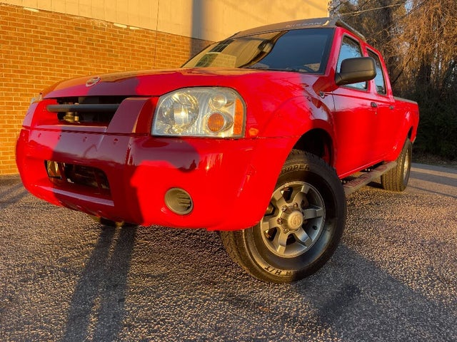 2004 Nissan Frontier 4 Dr XE 4WD Crew Cab LB