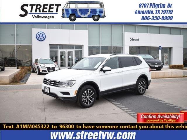 2021 Volkswagen Tiguan 2.0T SE FWD