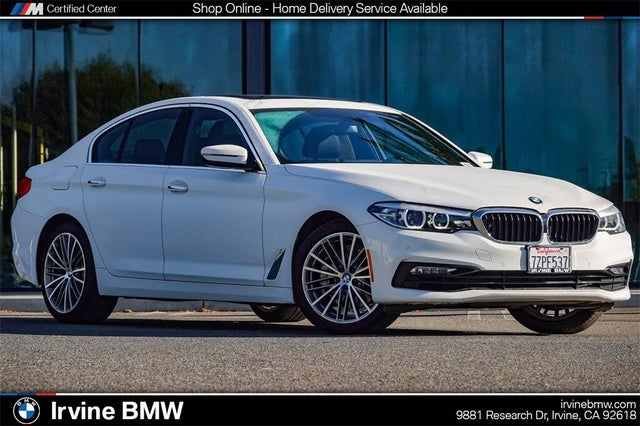 2017 BMW 5 Series 540i Sedan RWD