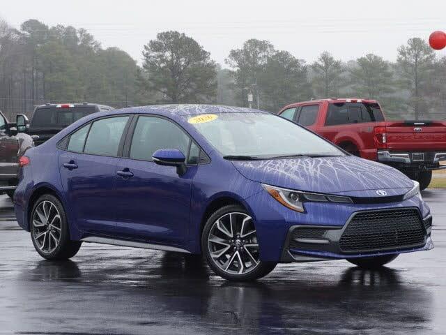 2020 Toyota Corolla XSE FWD