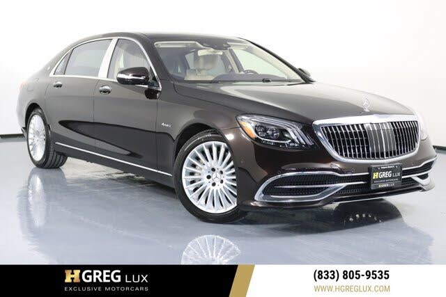2019 Mercedes-Benz S-Class Maybach S 560 4MATIC AWD