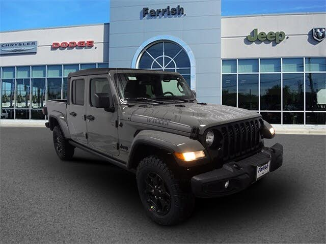 2021 Jeep Gladiator Willys Sport Crew Cab 4WD