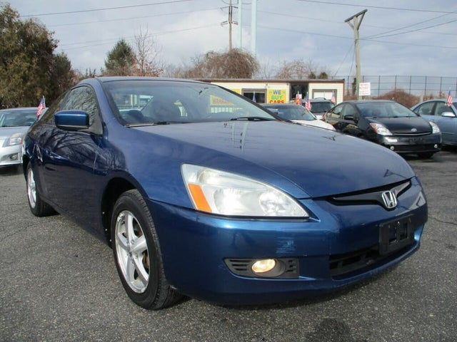 2004 Honda Accord Coupe EX with Leather
