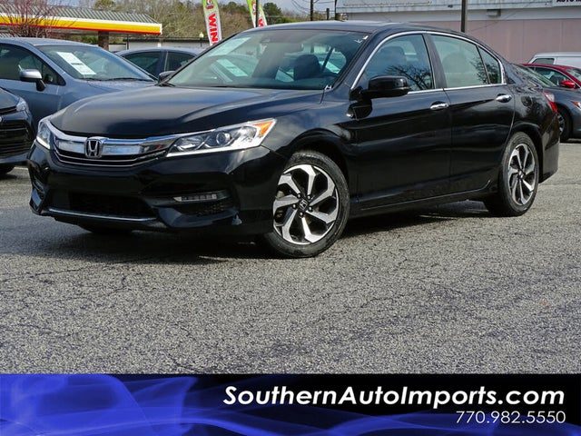 2017 Honda Accord EX-L FWD with Navigation and Honda Sensing