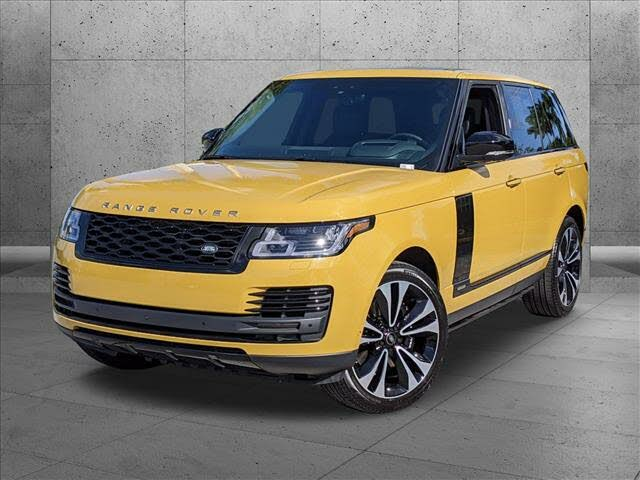 2021 Land Rover Range Rover Autobiography Fifty Edition 4WD