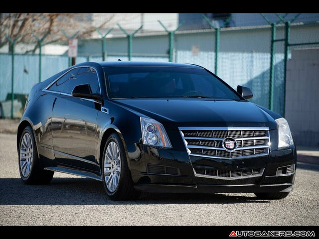 2011 Cadillac CTS Coupe 3.6L RWD