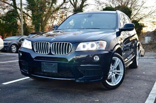 2013 BMW X3 xDrive35i AWD