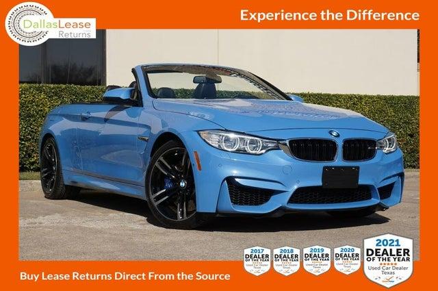 2016 BMW M4 Convertible RWD