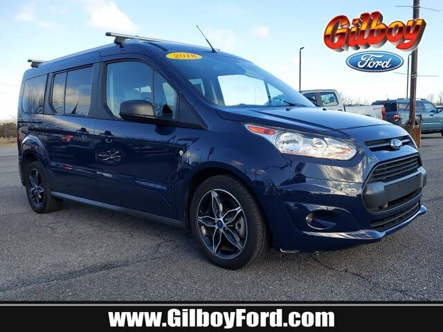 2018 Ford Transit Connect Wagon XLT LWB FWD with Rear Cargo Doors