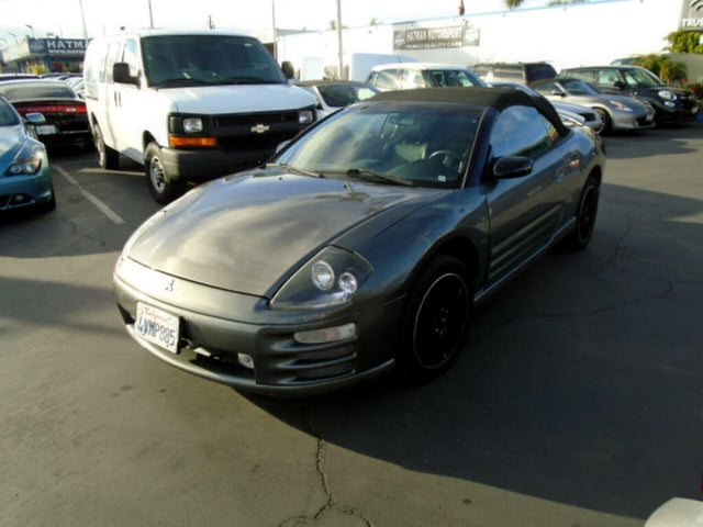 2002 Mitsubishi Eclipse Spyder GT Spyder