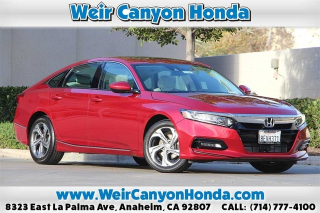 2018 Honda Accord 1.5T EX FWD